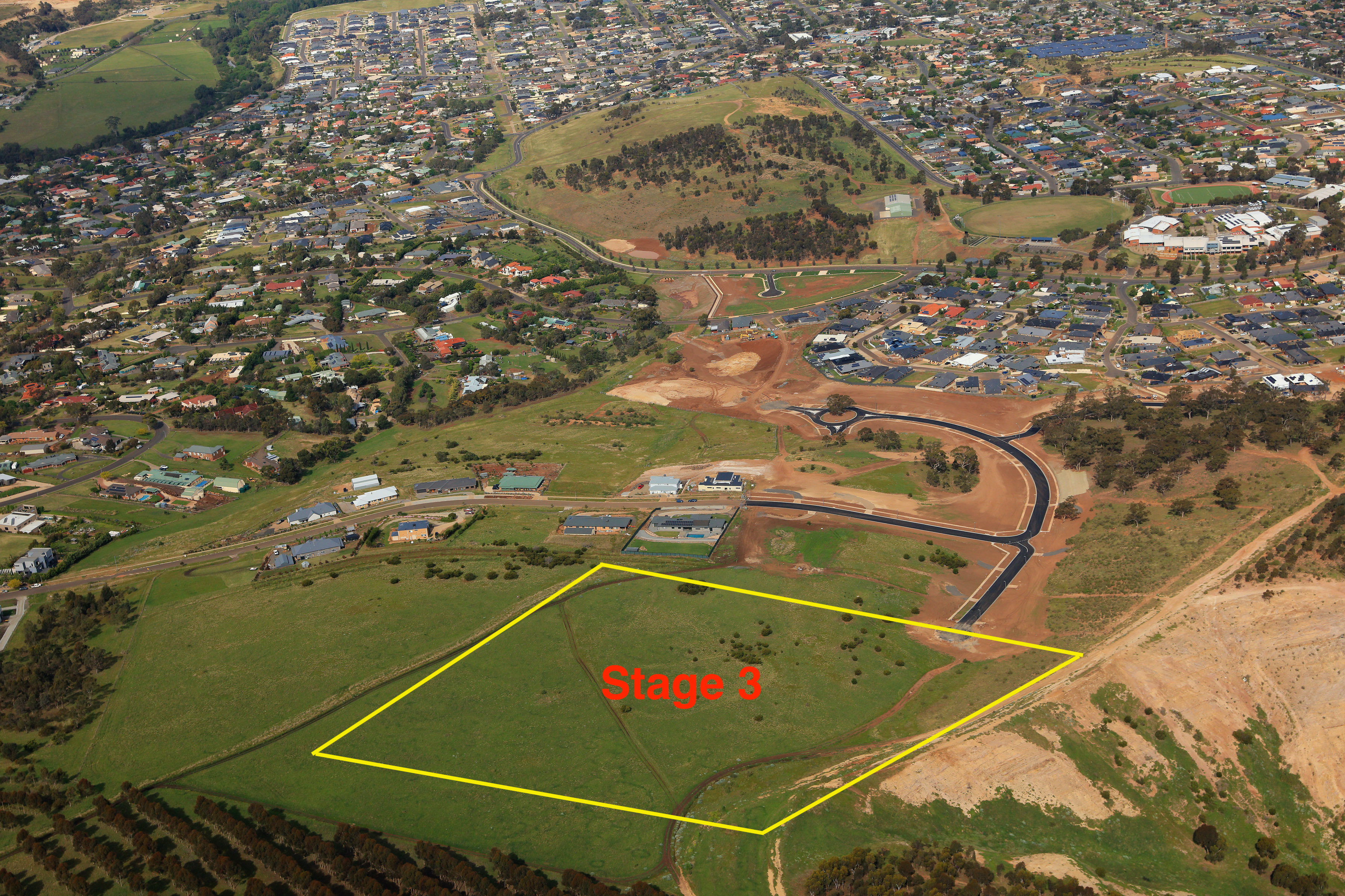 Stage 3 - Aerial Location